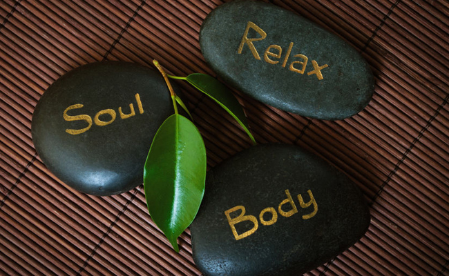 Relaxation Message Stones